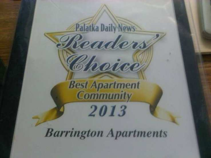 $785 / 2br - 1040ft² - Barrington Apartments 2br Apt ...