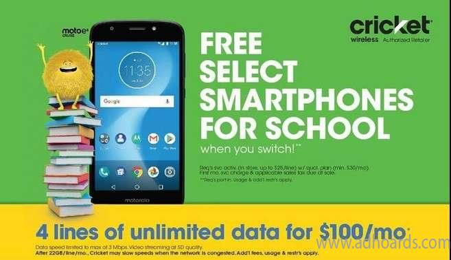Smartphones Are Free Today Cricket Wireless Southfield