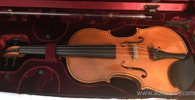 Beautiful Violin - Bismarck Adhoards