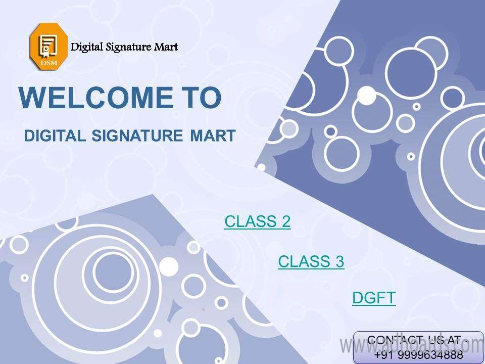 Buy Digital Signature Certificate Online From Digital Signature Mart